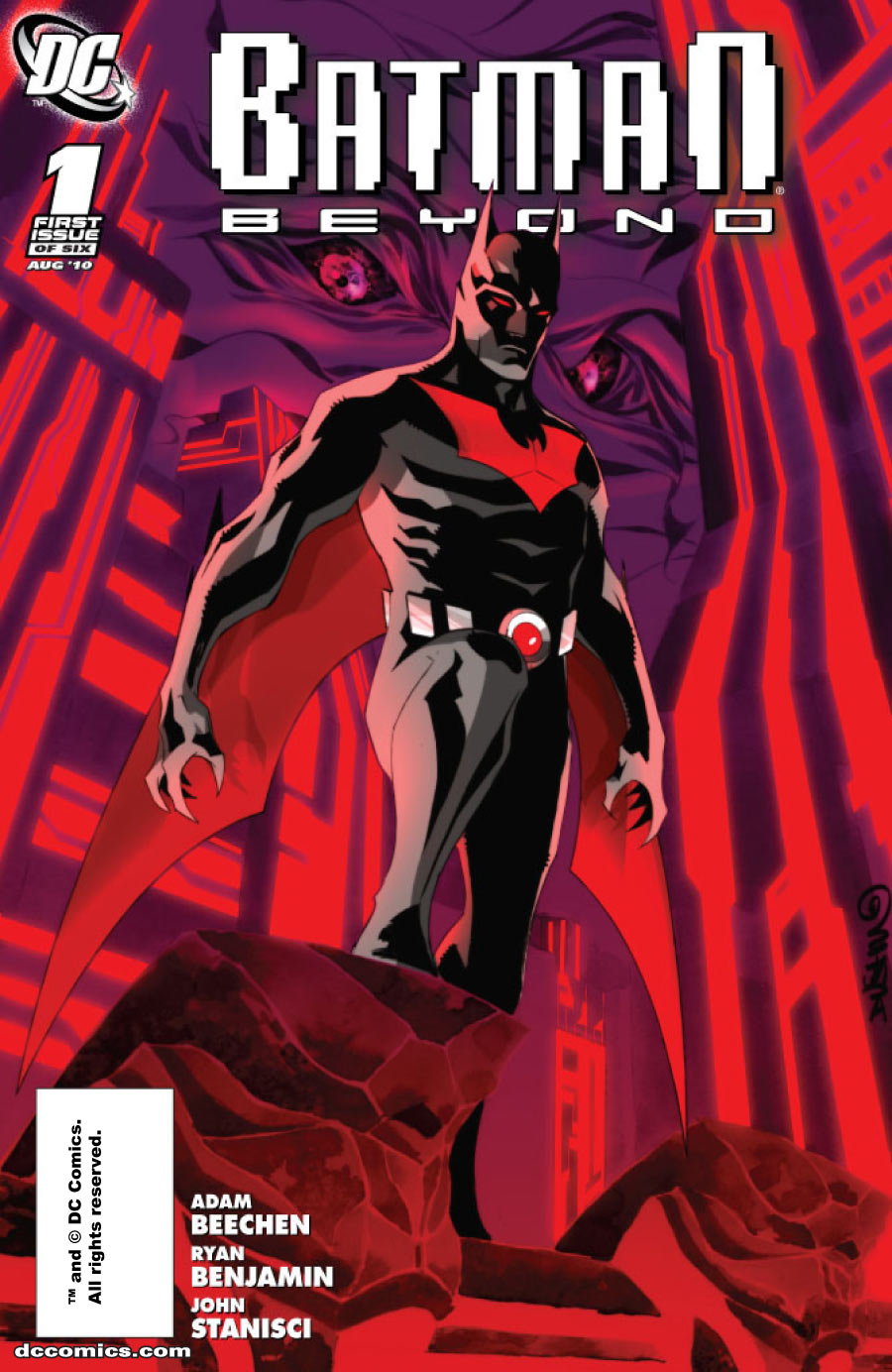 DEVIL COMICS ENTERTAINMENT: Batman Beyond #
