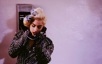 wallpaper lady gaga telephone