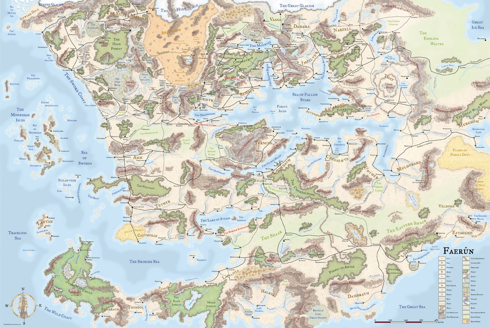 The Wertzone: The Worlds of D&D: Forgotten Realms