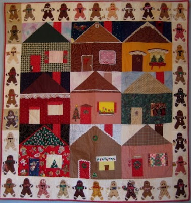 Gingerbread House Quilt Pattern Free : QUILT PATTERN FOR HOUSE BLOCK My Quilt Pattern