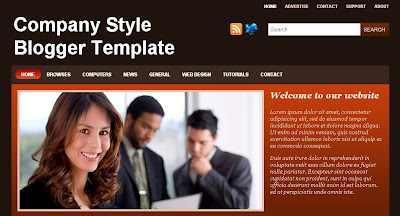 Company-Style-Blogger-Template