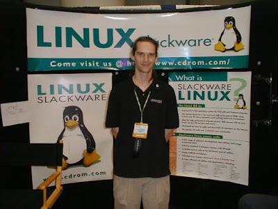 Patrick Volkerding, el creador de Slackware