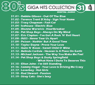 Giga Hits Collection 80's Vol 31