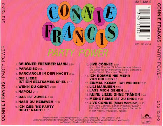 Connie Francis Party Power
