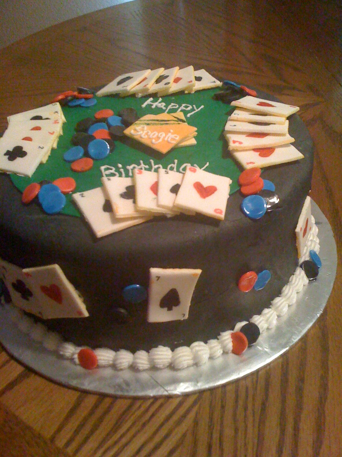 The Cake Lady: Poker Birthday Party