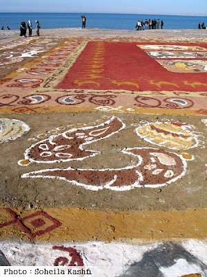 Soiled carpet