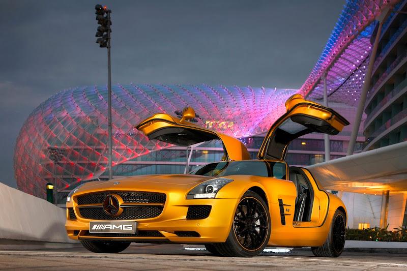 2010 Mercedes-Benz SLS AMG Desert Gold