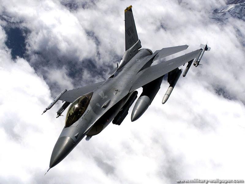 F-16 FightingFalcon Jet Fighter Wallpaper