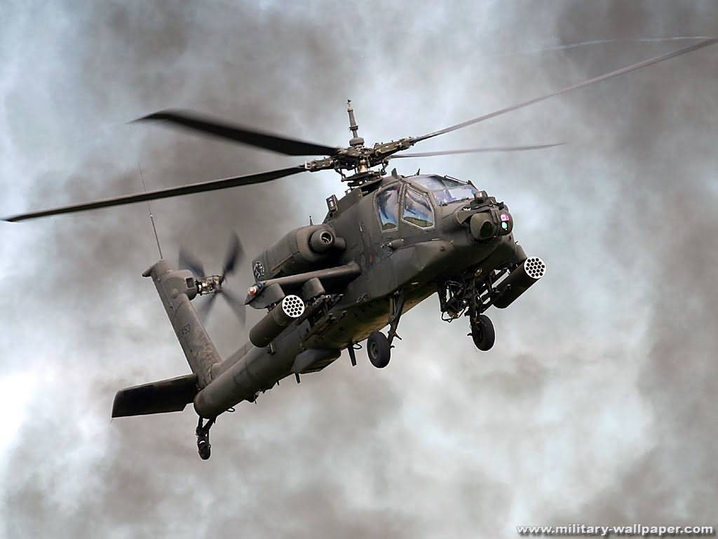 AH-64 Apache USA Army's Primary Attack Helicopter Wallpaper