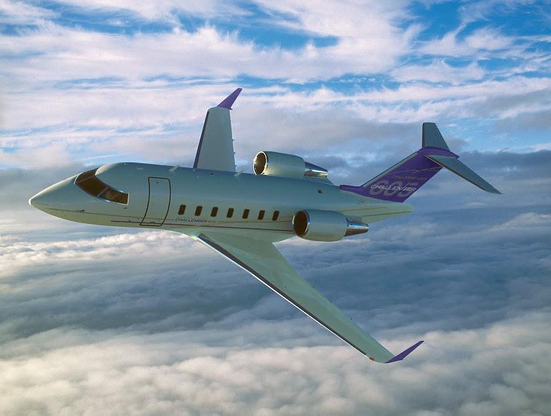Bombardier Challenger 604 jet Charter