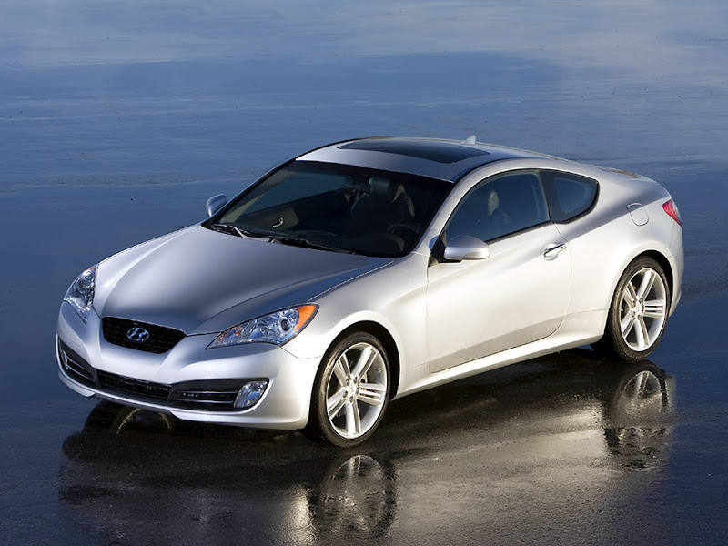 2010 Hyundai Genesis Coupe V6 Wallpaper