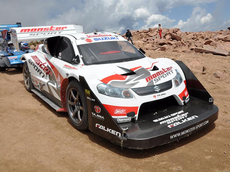 2010 Suzuki SX4 Racing Car for Hill Climb Edition