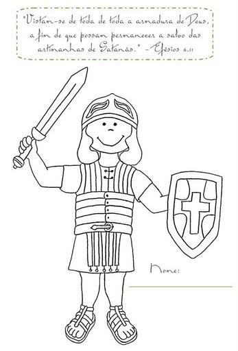 crianÇas para jesus a armadura de deus