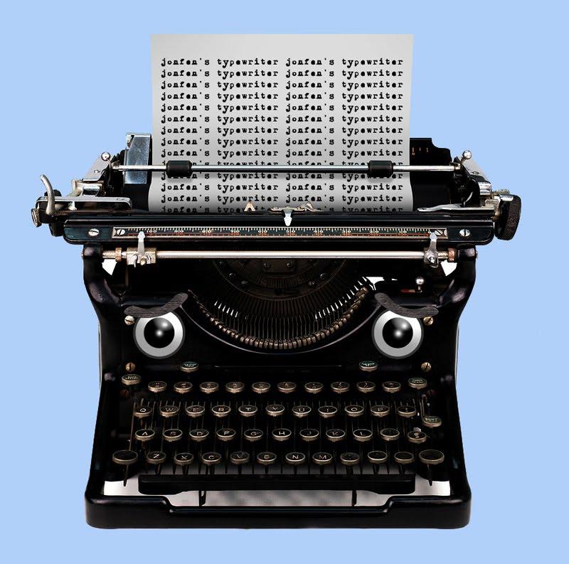 Jonfen's Typewriter