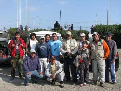 Salida , Isla Palomino, San Lorenzo, Punta Cabinza y zonas aledañas (26/10/2008)