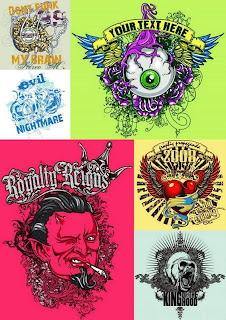 Estampa: Vector T-Shirt Designs