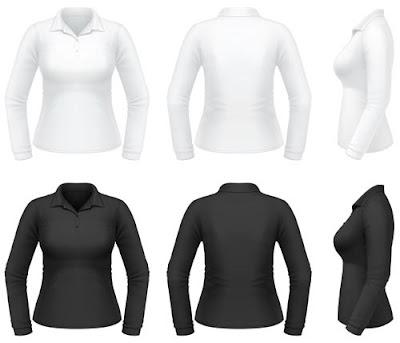 Templates de Camisas 19: Camisas Femininas