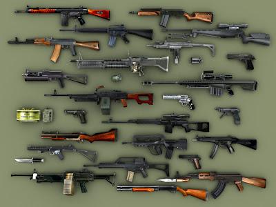 armas de fogo. Quem possui arma de fogo sem