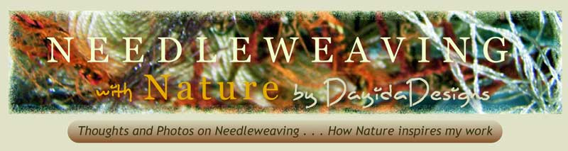Needleweaving with Nature by DayidaDesigns