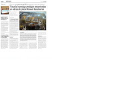 """11-06-09-TEMUkO- FISCALIA INVESTIGA RESTOS ARQUEOLOGICOS EN """"PLAZA RECABARREN"""""""