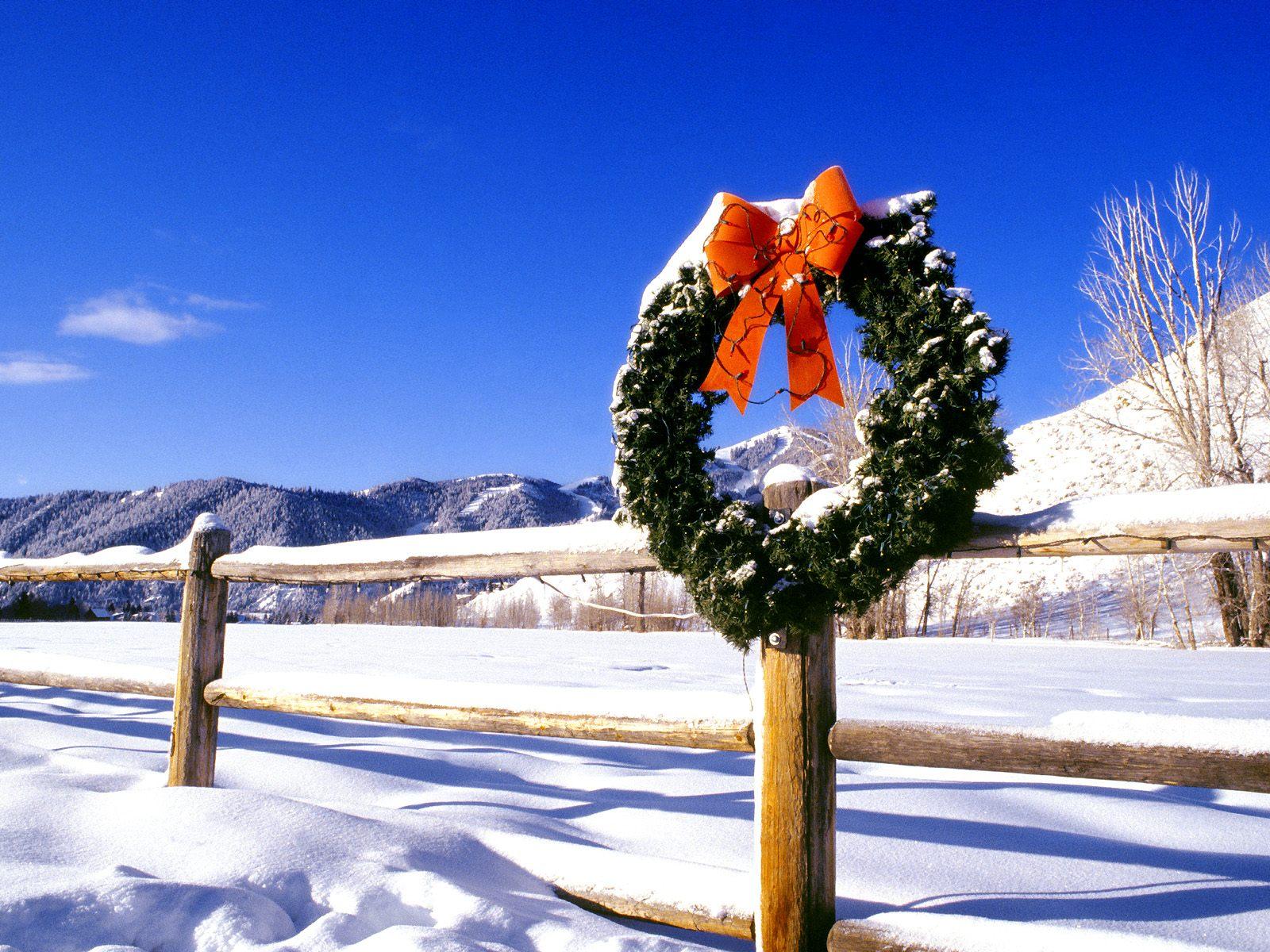 Imagini de iarna de Craciun