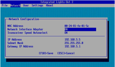 Configuring HP Integrated Lights-Out (iLO) - HP Proliant Server ...