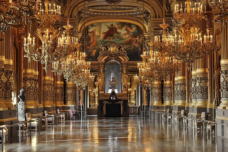 Le Grand Foyer Opera Garnier : Vtes european championship places to see in paris
