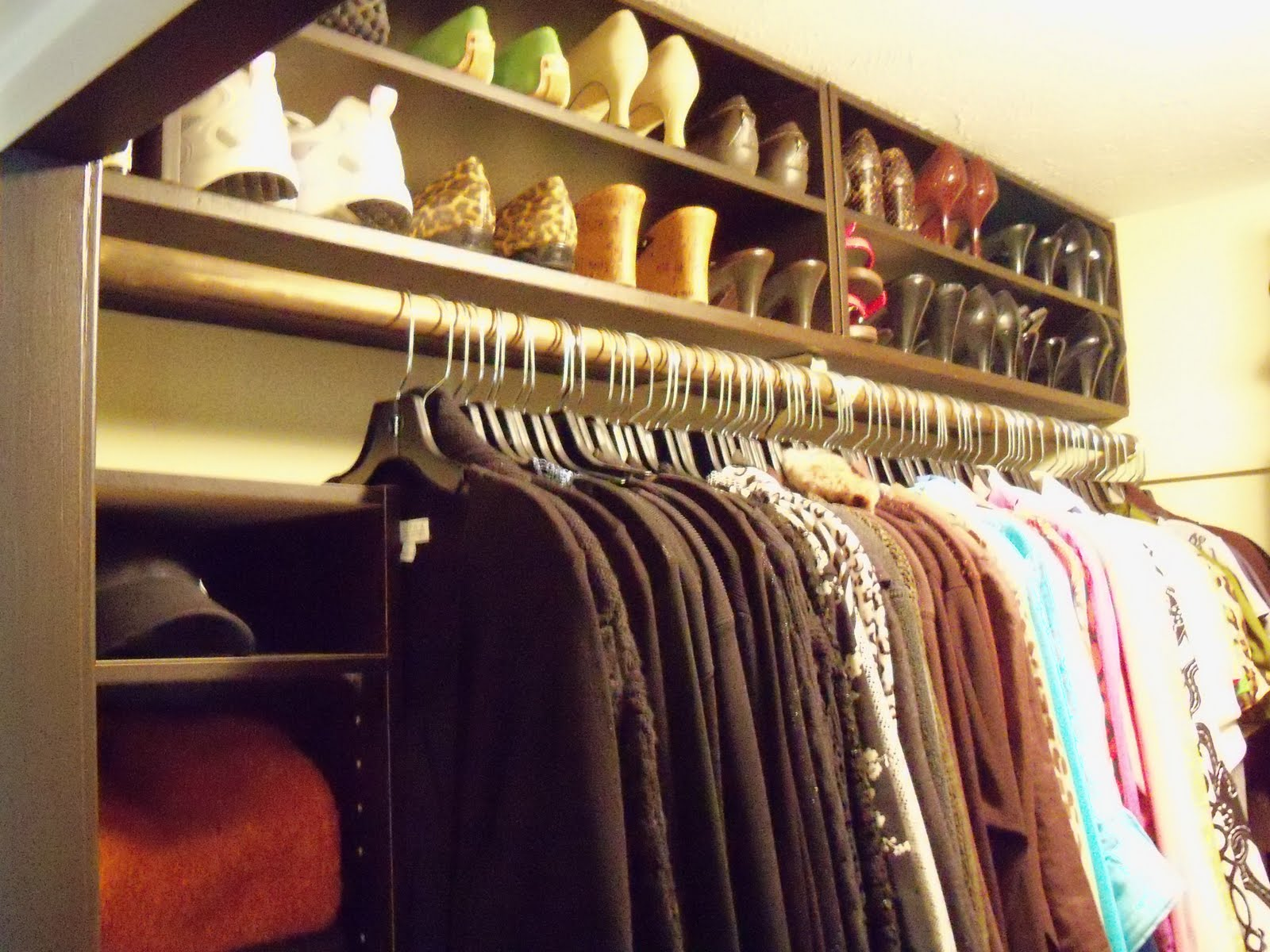 """My """"Almost"""" Dream Closet  Closet Revamp Revealed…. Full resolution  image, nominally Width 1600 Height 1200 pixels, image with #21AAA3."""