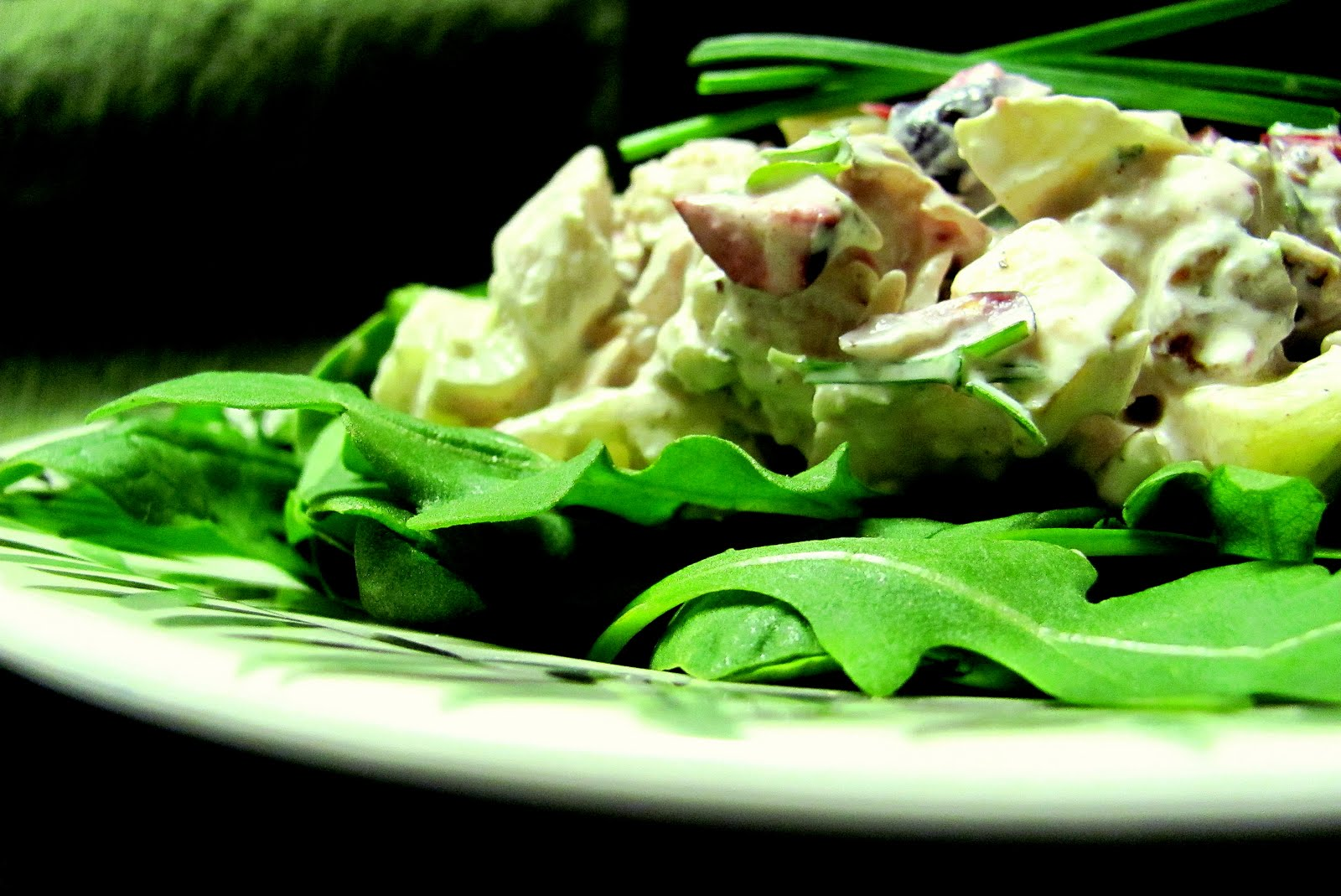 Curried Turkey Salad With Apples, Cranberries And Walnuts ...