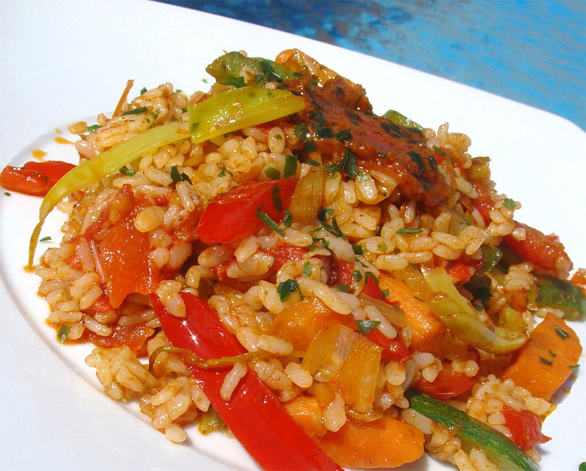 Falsarius chef blog de cocina f cil y recetas para el - Arroz con pescado y verduras ...