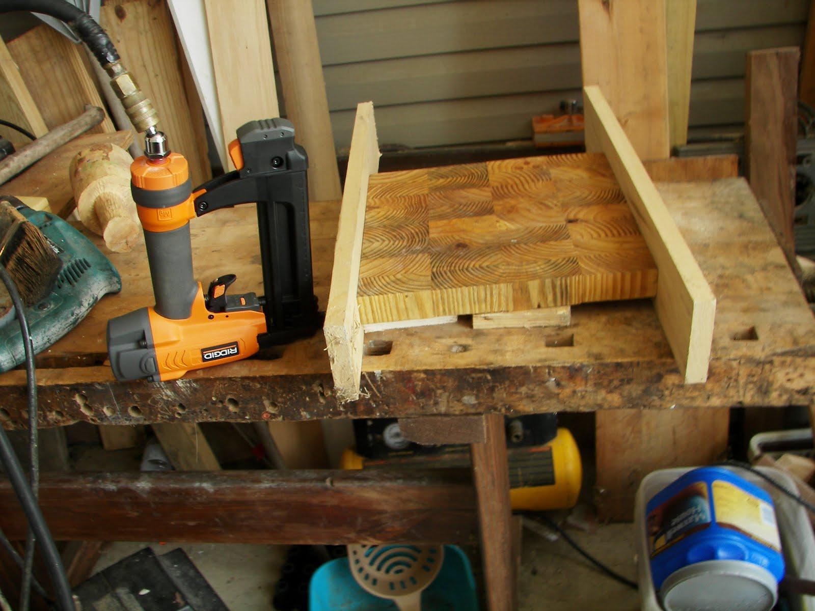 Sleepydog's Wood Shop: Surfacing End-grain Cutting Broards ...