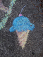 My Blue Ice Cream Cone