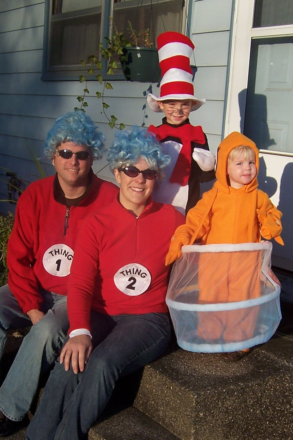 Dr Seuss Red Fish Costume