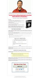 White Diamond Wordpress Landing Page Template