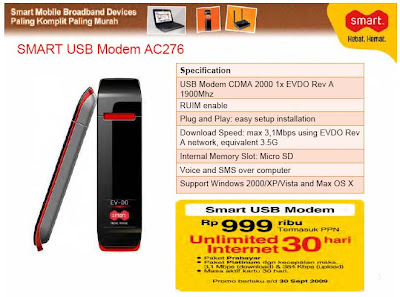 SMART USB Modem AC276