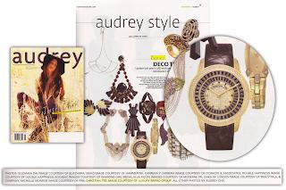 Christian Tse watch Audrey Magazine