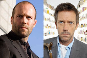 Jason Statham/Hugh Laurie