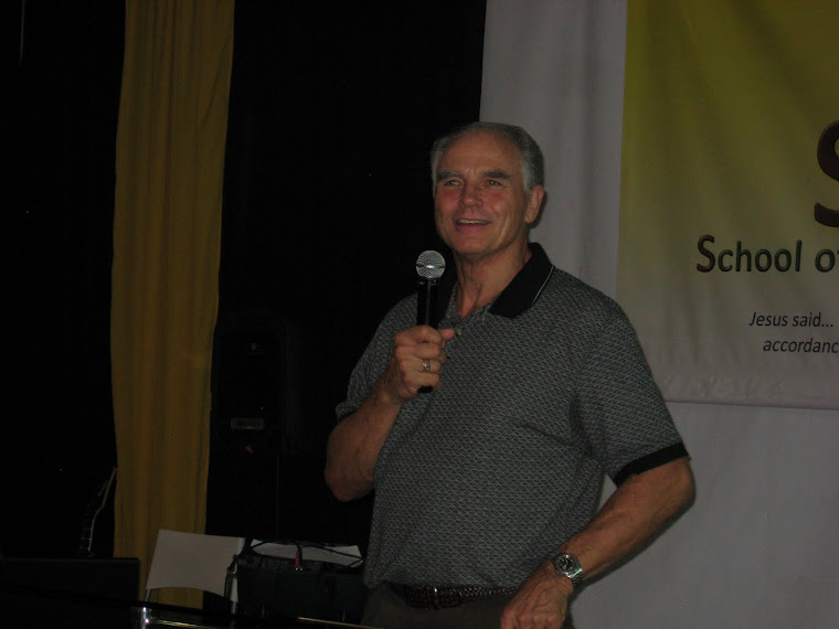 Apostle Bob Strobel...Coordinator of SAL Ministries in the Philippines
