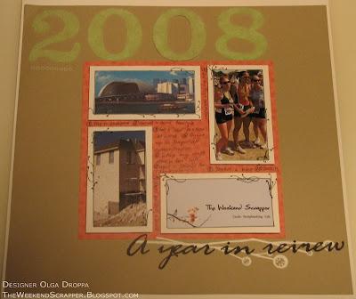 scrapbook, layout, Stampin'Up, sticky letters, resolutions, fun flock, flocking, triathlon
