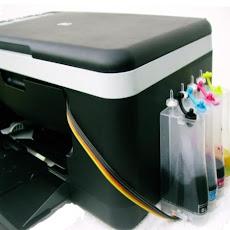 Bulk Ink em uma impressora multifuncional HP
