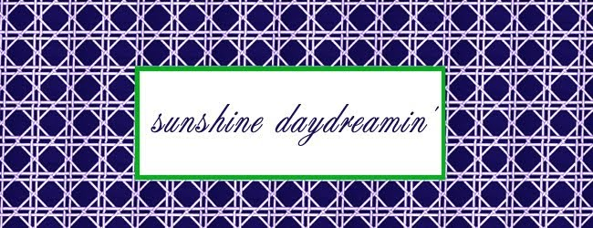 sunshine daydreamin'