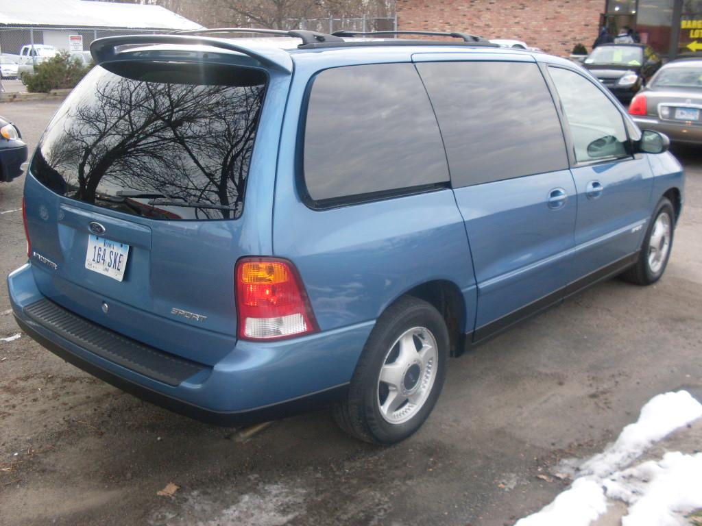 2003 Ford Windstar : Luisrideauto ford windstar sport dual slidding door