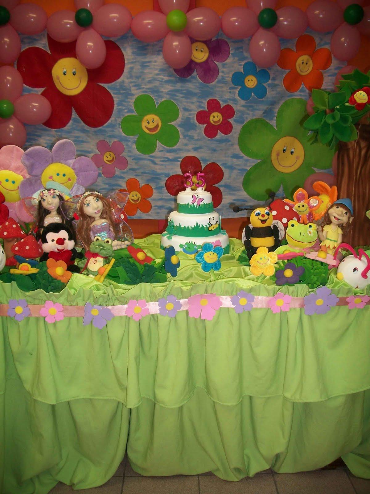 mesa infantil jardim:Alice Festa Infantil: Jardim Encantado