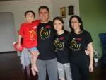 Nossa familia vestiu esta camisa e você?