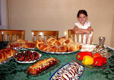 Emily says Shabbat Shalom July 27 2007