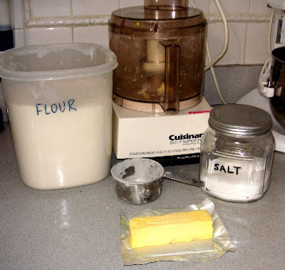 tart dough ingredients
