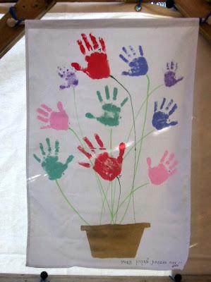 handprint banner