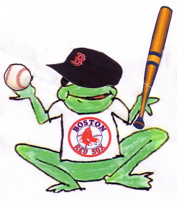 Joy in Frogville: The Red Sox won the 2007 American League Pennant and are off to the World Series!!