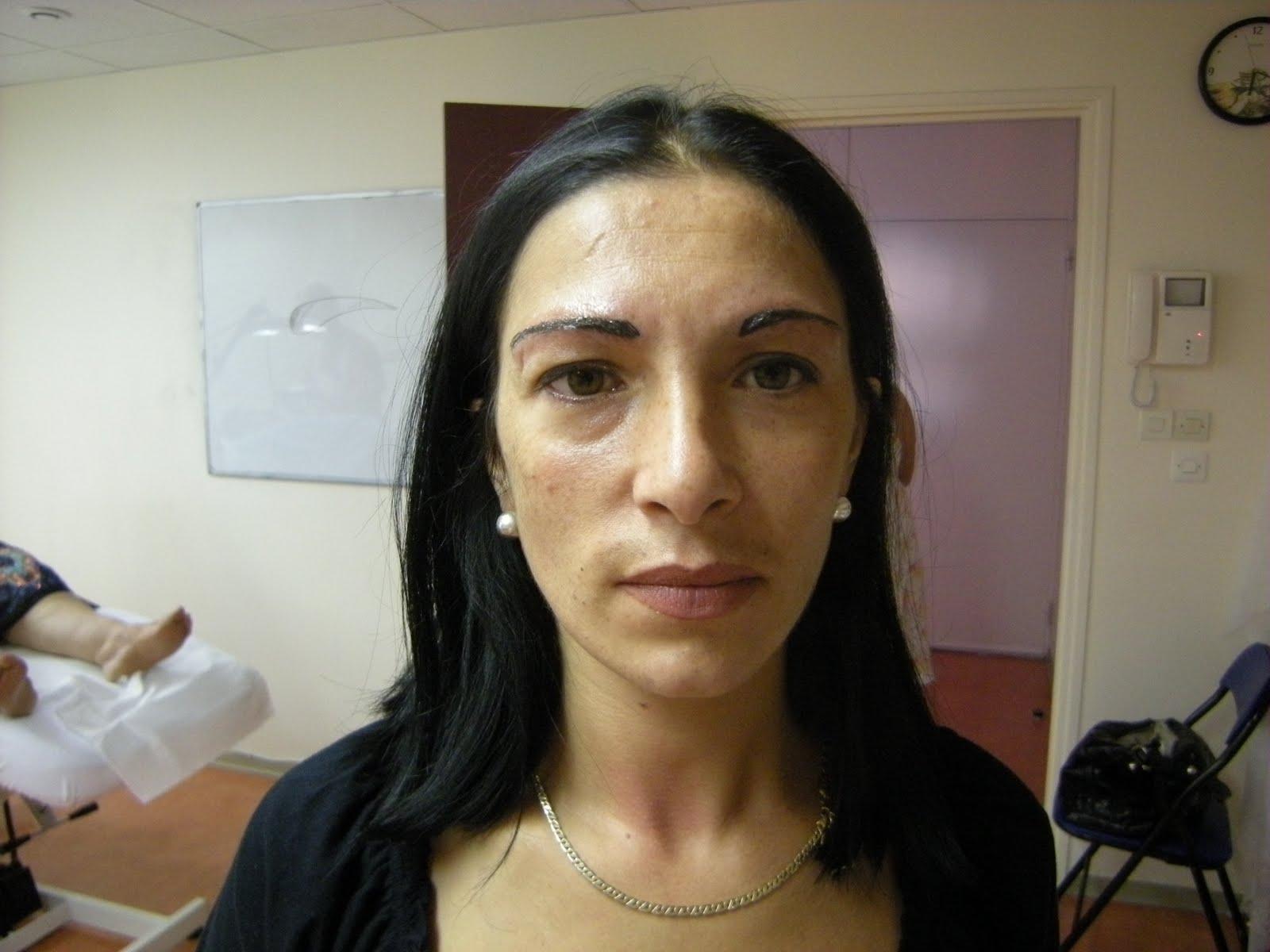 Maquillage Permanent des Sourcils en poil à poil  - tatouage permanent sourcils