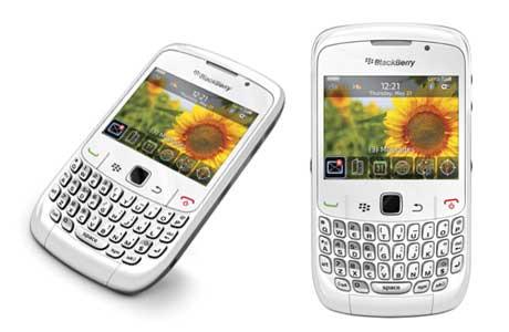 Blackberry Curve 8520 White Color. BlackBerry™ Curve 8520 For
